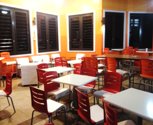 Photo Credit: Patrice Harris New furniture at UVI Cafeteria
