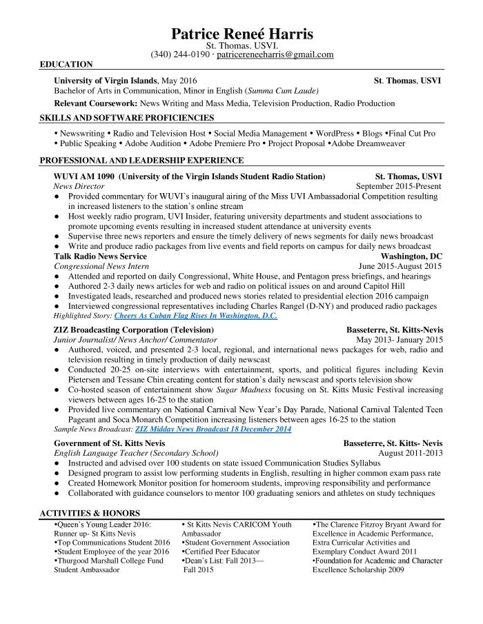 P Harris Resume May 2016 TMCF-page-001
